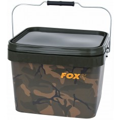 Camo Square Buckets 10L Fox