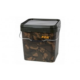 Seau Fox Camo Square Buckets 17L