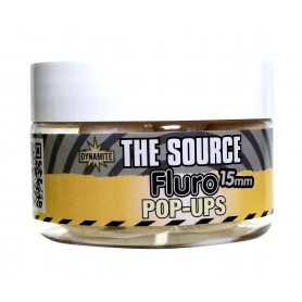 Dynamite Baits The Source Fluro Pop Ups 15mm