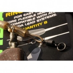 Ring Swivels size 8 Korda (x20)