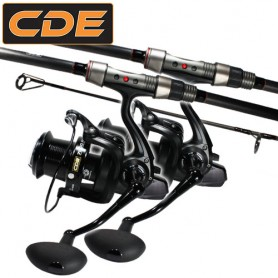 Ensemble CDE Carp CR-02 12' 3lbs 7000FD (x2)