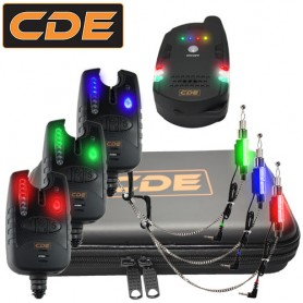 Pack CDE Receiver + 3 CDXFI Bite Alarms + Hangers