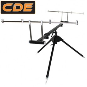 Rod Pod CDE Black 3 à 5 cannes