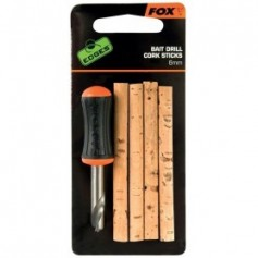Foret Fox Edges Bait Drill & Cork Sticks