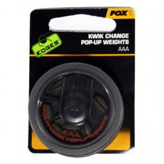 Plomb Fox Edges Kwik Change Pop Up Weights AAA