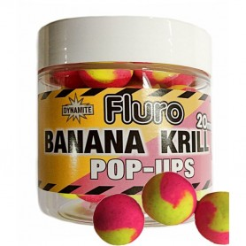 Dynamite Baits Fluro Two Tone Pop Ups Tutti & Pineapple 15mm